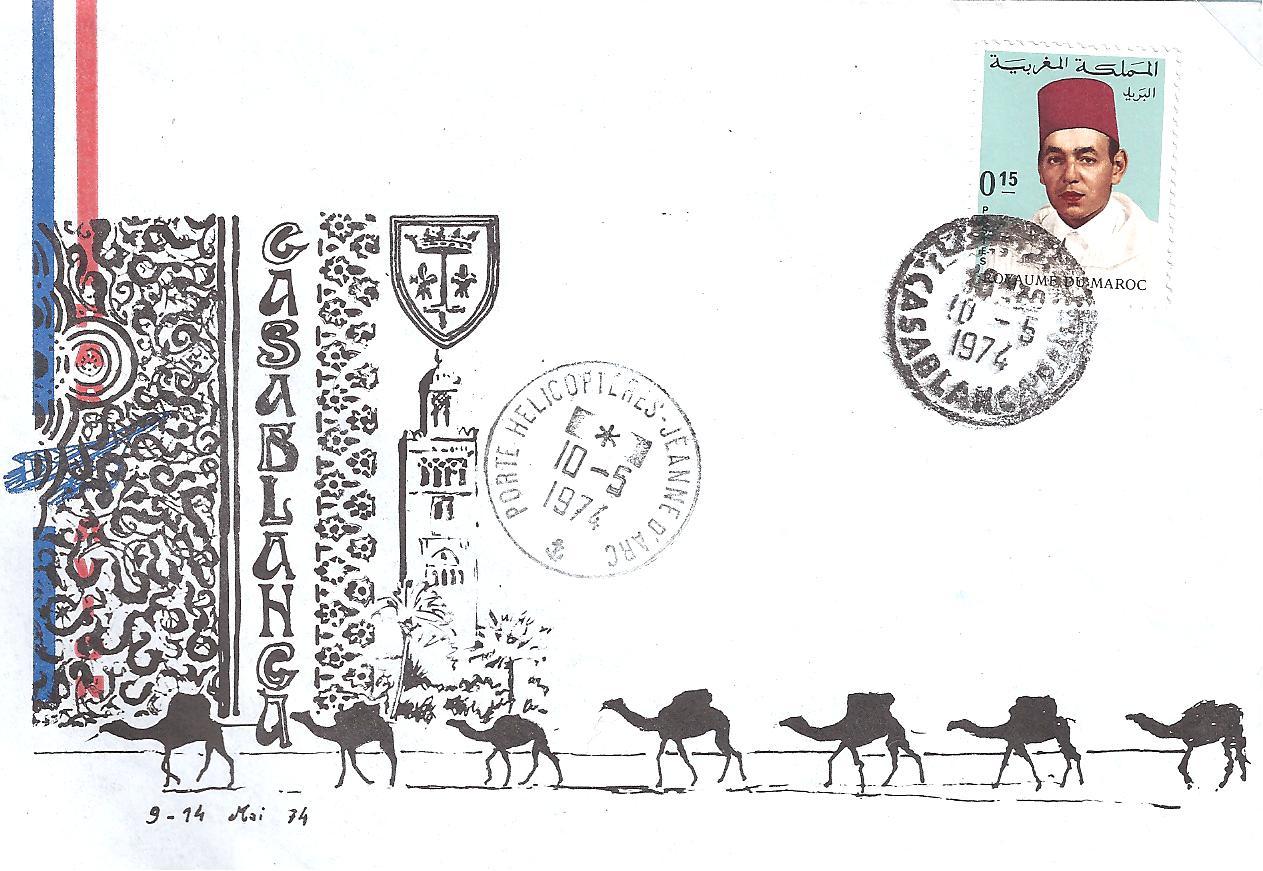marcophilie daniel  maroc marine fran u00e7aise et  u00e9trang u00e8re en escale