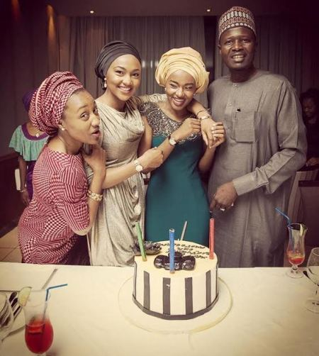 Image result for Aisha Buhari And Youngest Daughter At Her Birthday