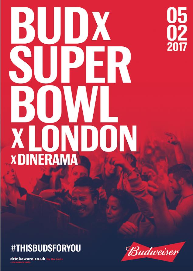 Dinerama Shoreditch: London Pop-ups: Budweiser's London Super Bowl Party At