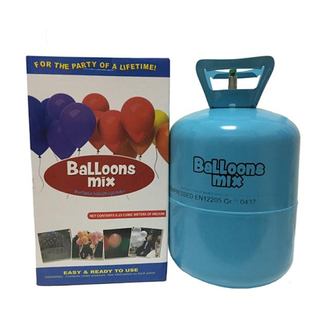 Dónde comprar el helio para inflar los globos