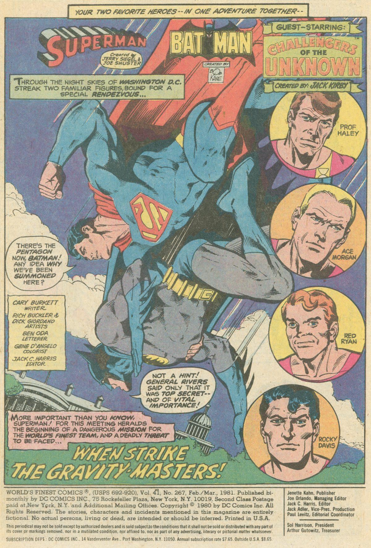 Read online World's Finest Comics comic -  Issue #267 - 3