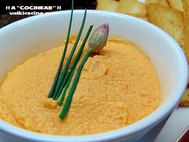 Paté de cangrejo ( surimi ) y merluza con queso crema