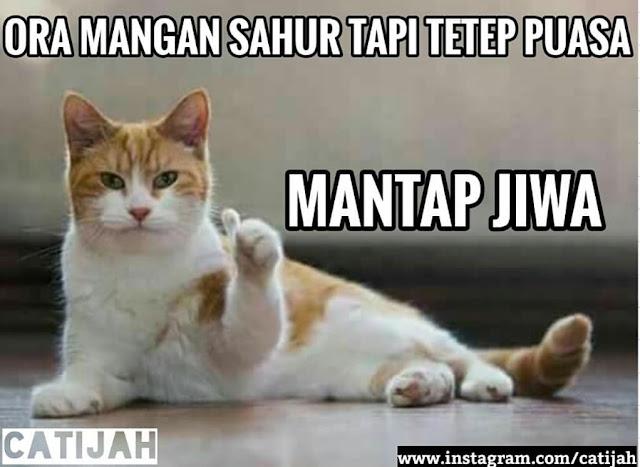 Meme Lucu Puasa Ramadhan 8
