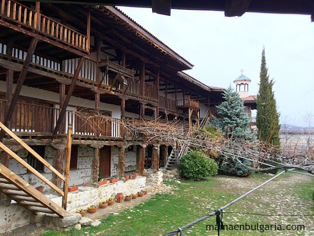 Claustro monasterio de Rozhen