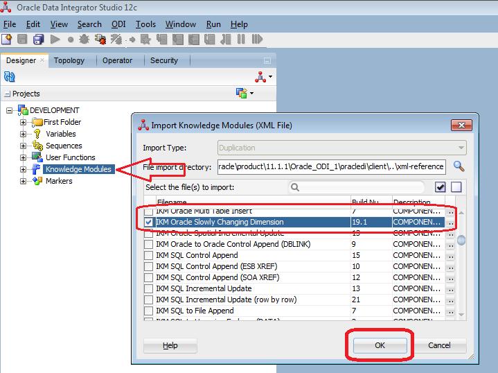 Oracle Data integrator 11G & 12c Tutorials,: ODI 12c SCD