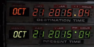 Back To The Future real date, screengrab from YouTube