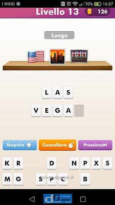 Emoji Quiz soluzione livello  13