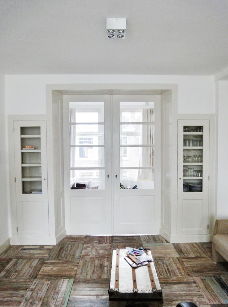 interieurbouw kamer en suite in moderne ruimtes. Black Bedroom Furniture Sets. Home Design Ideas