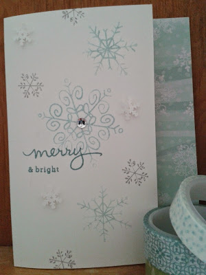 Stampin UP Christmas card