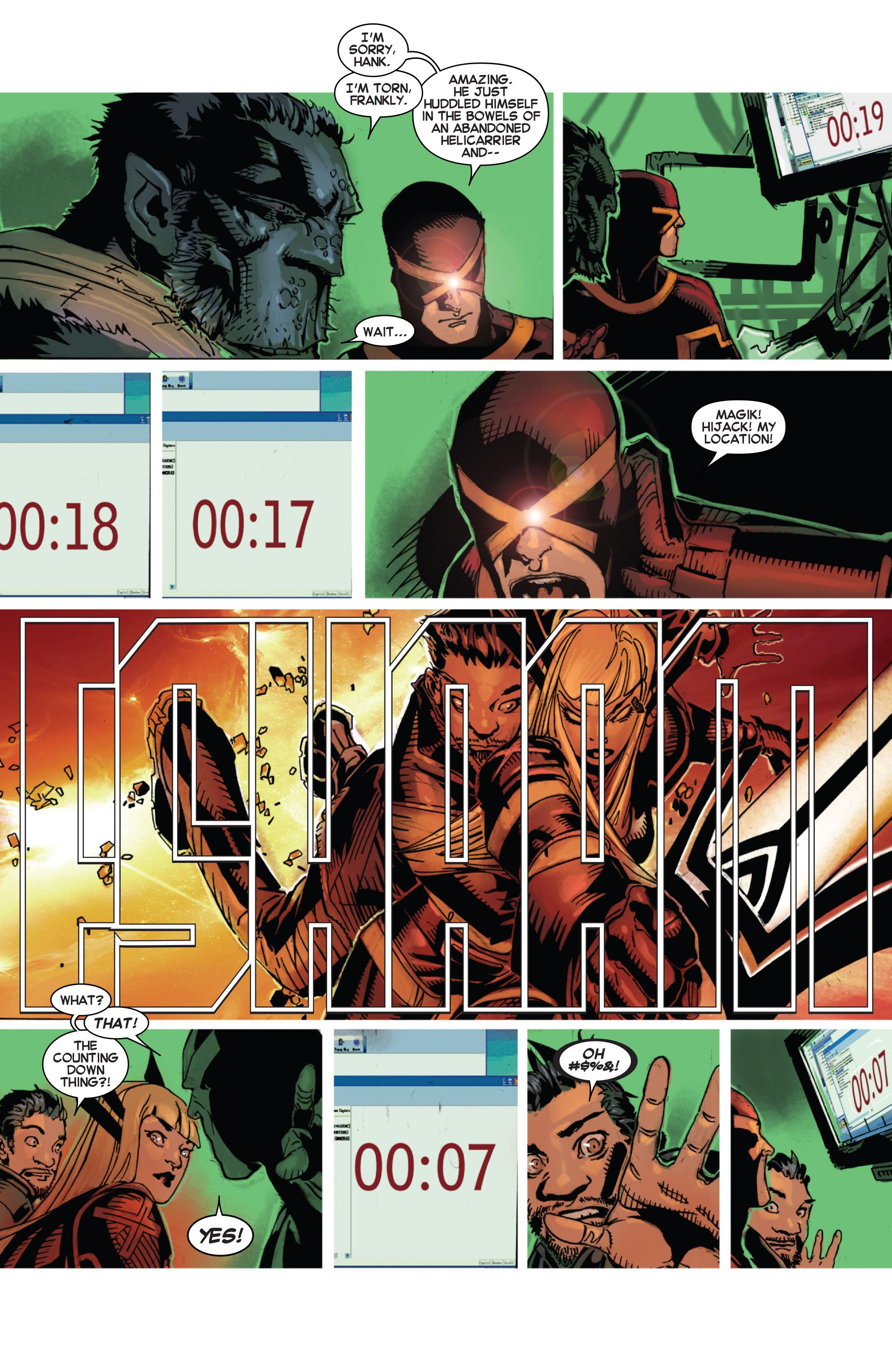 Read online Uncanny X-Men (2013) comic -  Issue #22 - 17