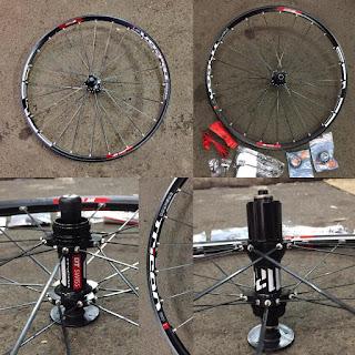 Wheel set Dt Swiss Tricon M1700 bobotnya 1,5 kg