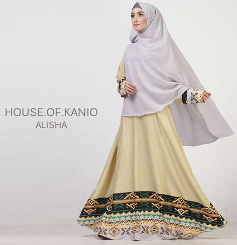 model baju batik syari