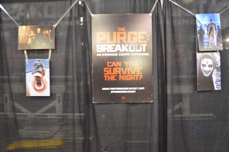 The Purge: Breakout Escape Room experience at at Wizard World Philadelphia 2014