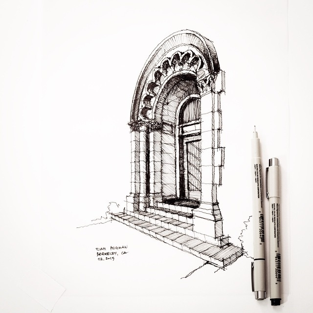 13-Dan-Hogman-Architectural-Sketchbook-Drawings-www-designstack-co