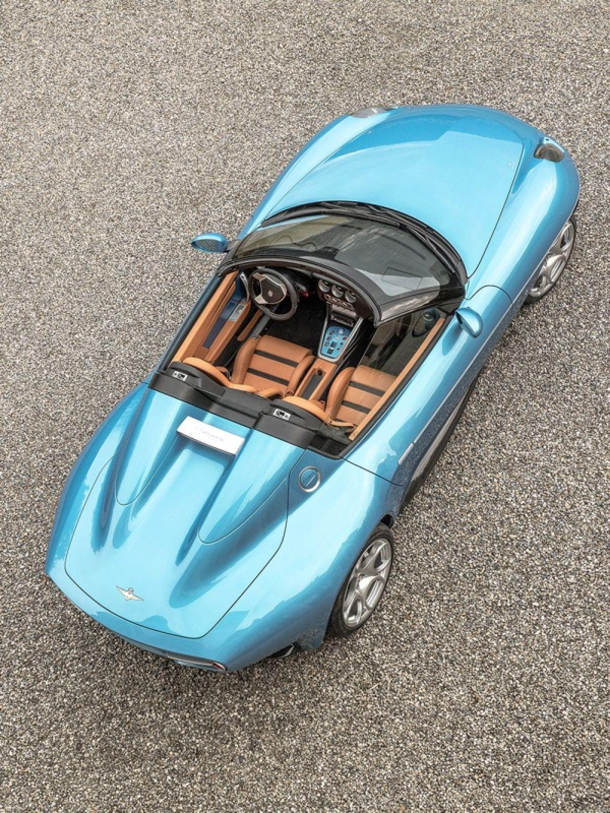 Hãng độ Touring Superleggera ra mắt Alfa Romeo Disco Volante Spider