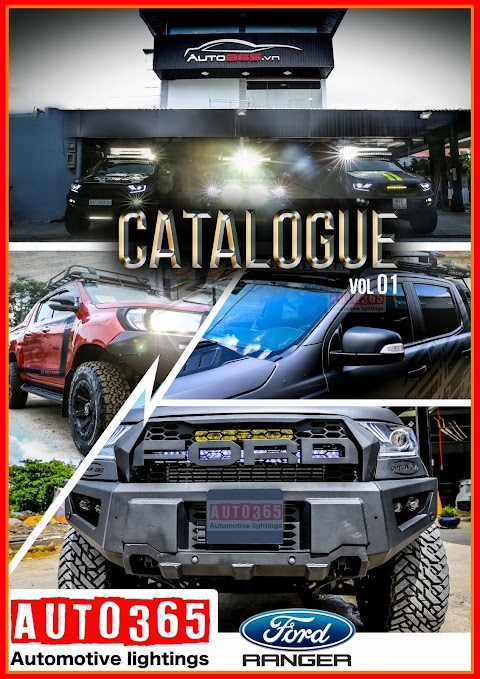 Bảng báo giá - Độ xe bán tải uy tín chất lượng đầy đủ đồ chơi bán tải Ford Ranger BiTurbo Raptop từ A-Z tại Auto365 ?