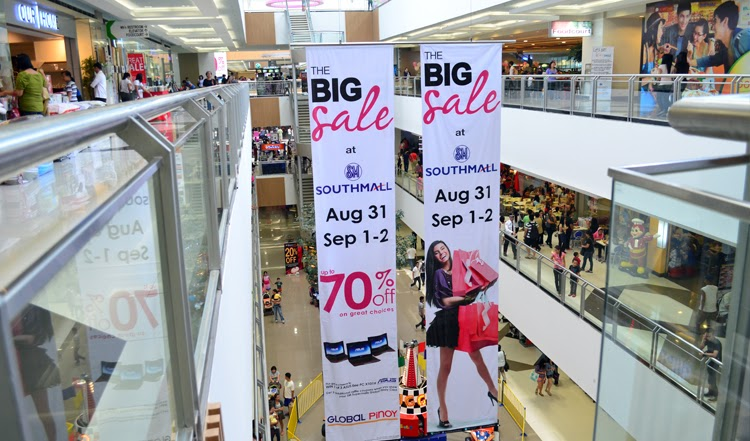 Shopping Spree at SM Southmall's The Big Sale