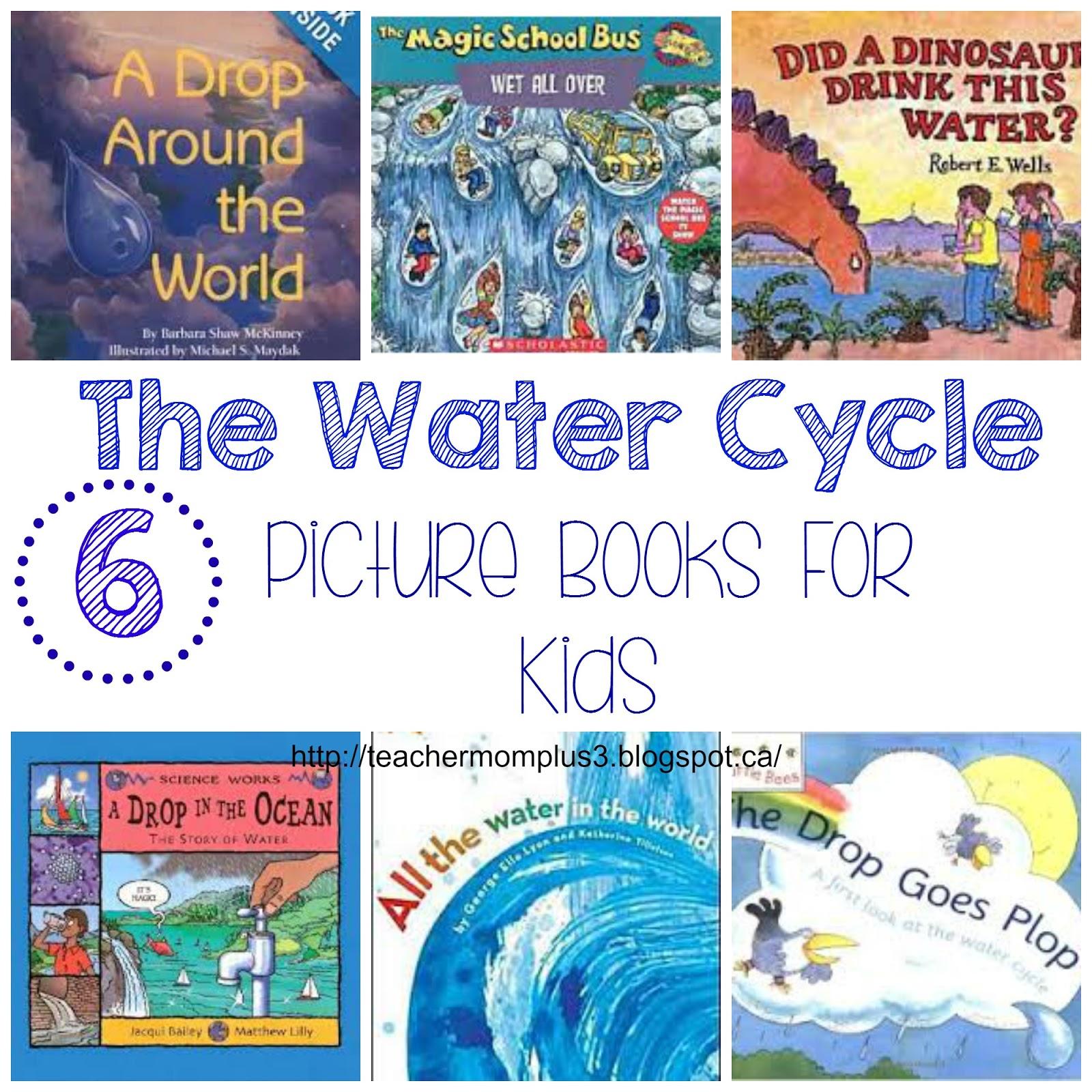 Teachermomplus3 Water Cycle Felt Puzzle Plus Book