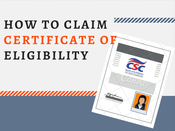 How to Claim the CSC Certificate of Eligibility | Pinoytut