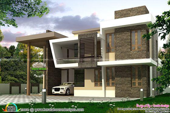 House left side elevation