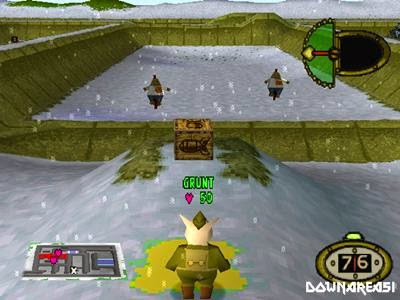 Hogs of War Gameplay Screenshot