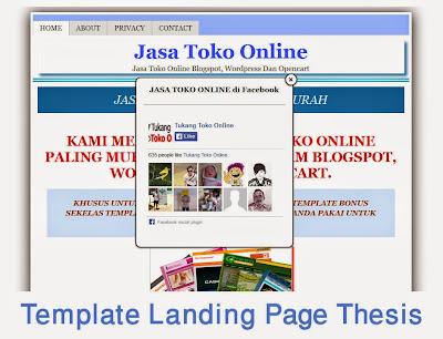 DOWNLOAD GRATIS Template Landing Page Blogspot SEO Responsive | Tips ...