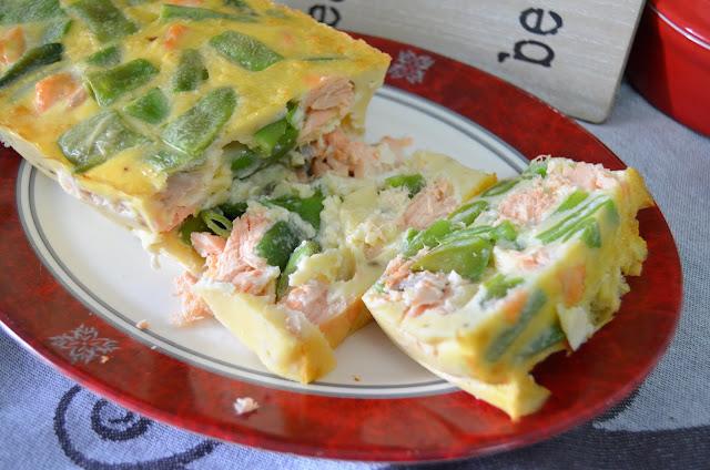 judías verdes, pastel de salmón, pastel de salmon al horno, pastel de salmon fresco, pastel de salmon frio, pastel de salmon Ibarra, pastel de salmón y judías verdes, salmón, las delicias de mayte,
