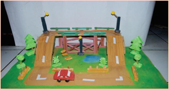 Langkah-Langkah Kerja Pembuatan Miniatur Jembatan 6