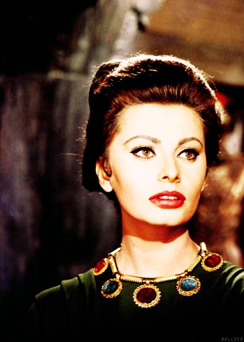 3618466e24d5b Sophia Loren for the Movie  The Fall of the Roman Empire