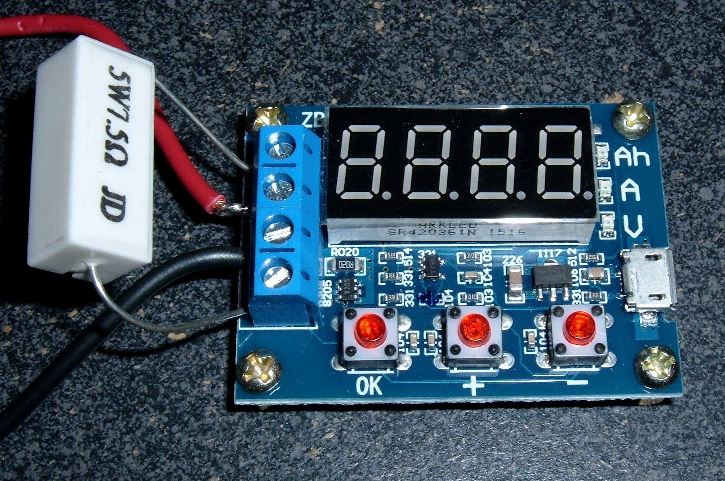 Diy Resistive Load Bank Syonyk S Project Blog Zb2l3 V2 Zhiyu Battery Tester