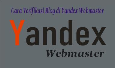 Contoh gambar ilustrasi yandex webmaster