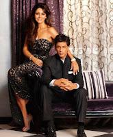 Shahrukh Khan dengan istrinya Gauri Khan