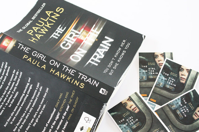 The Girl On The Train-The Book, The Movie & A Giveaway