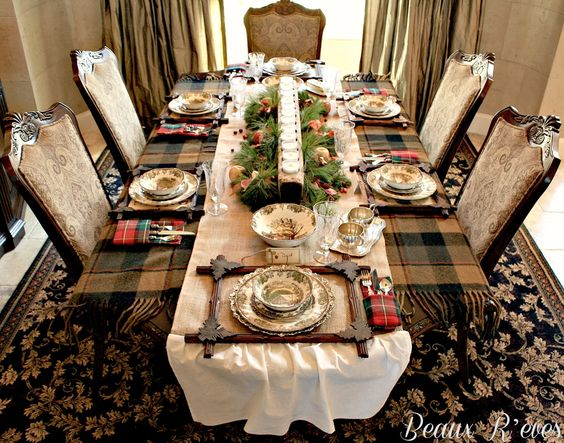 Common Ground Thanksgiving Tablescapes With Transferware