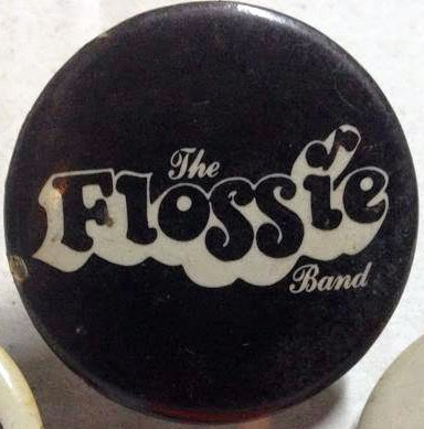 The Flossie Band button