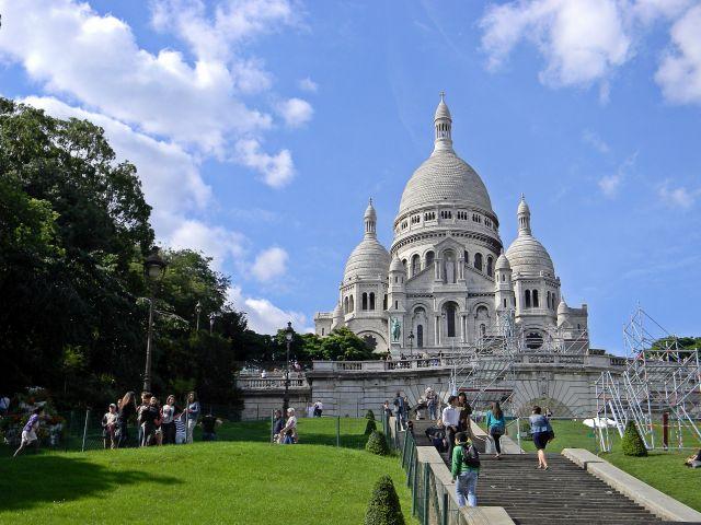 Paryż, zabytki, Francja