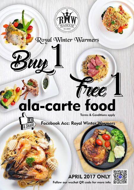 Royal Winter Warmers Tea House Buy 1 Free 1 Facebook Promo