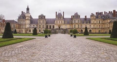 Je me suis faite pigeonner au Château de Fontainebleau