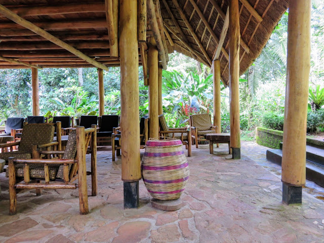 Kibale Forest Camp common area in Uganda