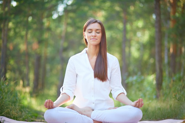 Meditation can be defined as a practice where an individual uses a technique, such as focusing their mind on a particular object, thought or activity, to achieve a mentally clear and emotionally calm state
