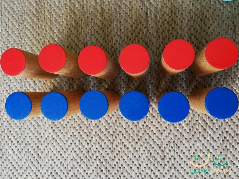 Puszki szmerowe Montessori