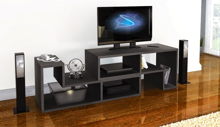 Mueble de melamina para sala promueve per for Modulares modernos para sala