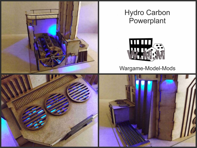 Tales of a Tabletop Skirmisher: MDF Terrain with Lights and