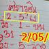 หวยเด็ด ศราวุฒิ สามตัวบน สองตัวล่าง งวดวันที่ 2/05/61