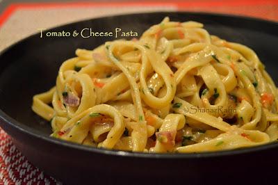 Tomato & Cheese Tagliatelle