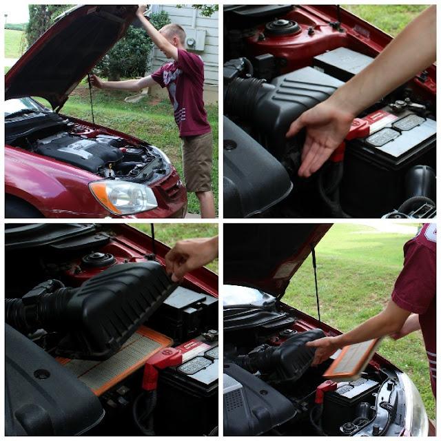engine air filter, FRAM, Extra Guard #shop #SummerCarCare #cbias