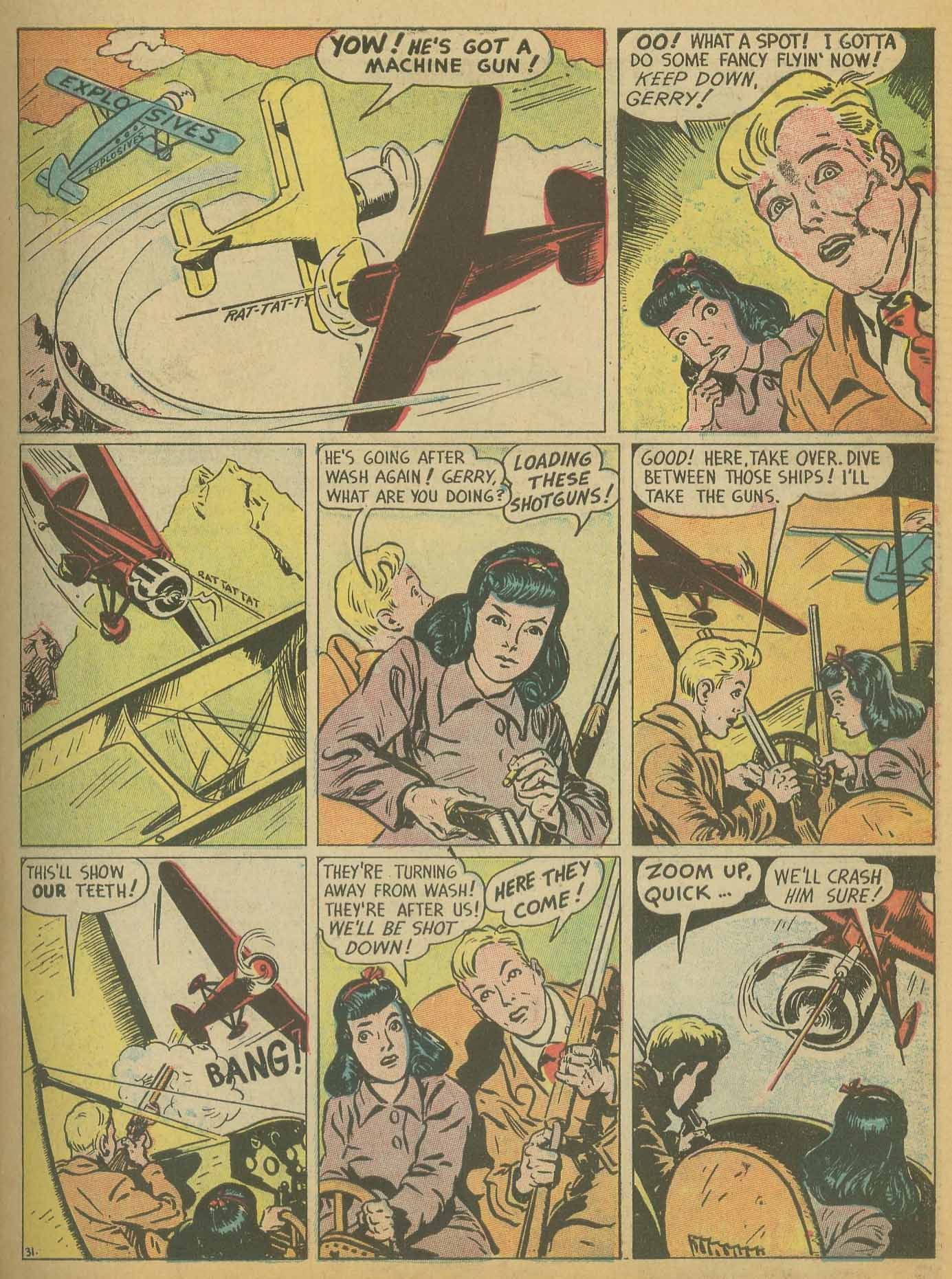 Read online All-American Comics (1939) comic -  Issue #8 - 21