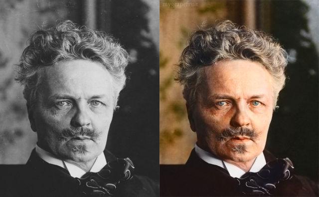 Colorindo fotos antiga ou em preto e branco