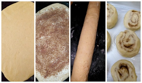Step by Step Pictures of how to make Cinnamon Roll