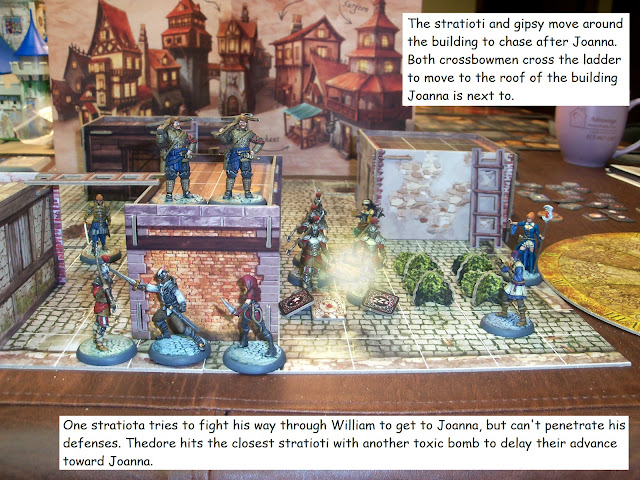 Nova Aetas board game painted play through mission 2.3 Face To Face